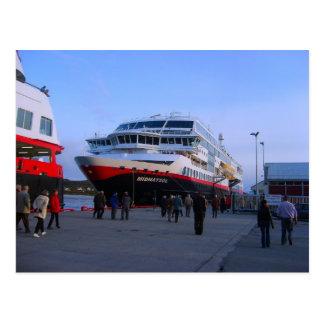 Norwegian cruise ship postcard