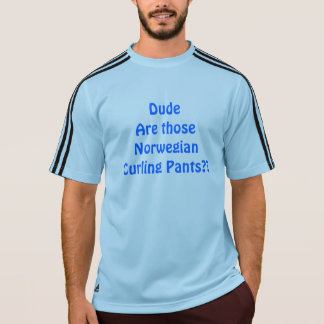 Norwegian Curling Pants T-Shirt