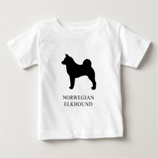 Norwegian Elkhound Baby T-Shirt