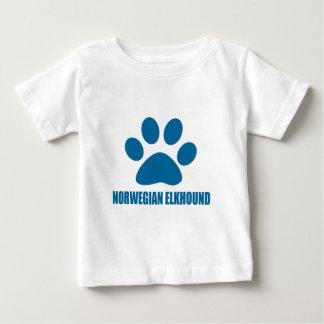 NORWEGIAN ELKHOUND DOG DESIGNS BABY T-Shirt