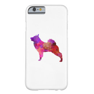 Norwegian Elkhound in watercolor Barely There iPhone 6 Case