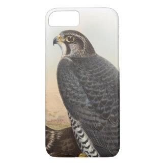 Norwegian Falcon John Gould Birds of Great Britain iPhone 7 Case