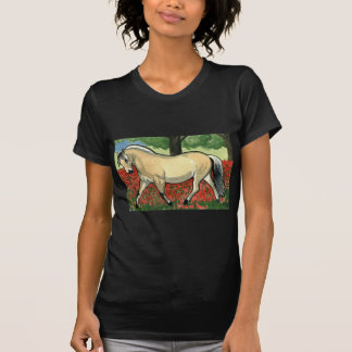 Norwegian Fjord HORSE ART T Shirts