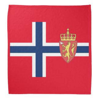 Norwegian flag bandana