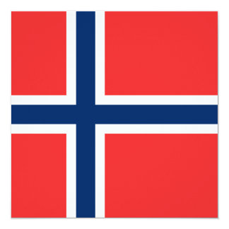 Norwegian Flag Card