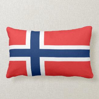 Norwegian Flag Throw Cushions