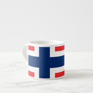 Norwegian Flag Espresso Mugs