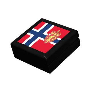 Norwegian flag gift box