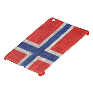 Norwegian Flag Grunge Distressed Case For The iPad Mini