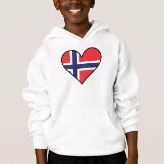 Norwegian Flag Heart