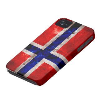 Norwegian Flag iPhone 4 Cases
