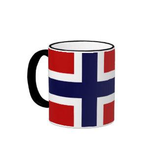 Norwegian Flag - Kongeriket Norge - Norsk Flagg Coffee Mug