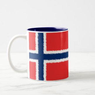 Norwegian Flag Coffee Mugs