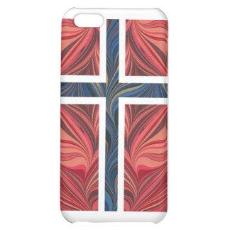 Norwegian Flag Norway Nordic Scandinavian Cross No Case For iPhone 5C