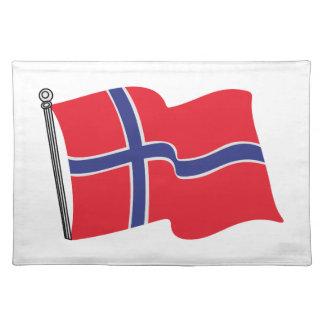 Norwegian Flag Placemat