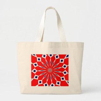 Norwegian flag related items jumbo tote bag