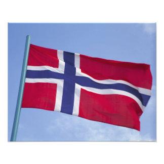 Norwegian flag RF) Photo
