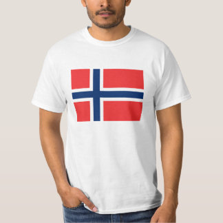Norwegian flag t shirts for Norway