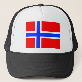 Norwegian Flag Trucker Hat