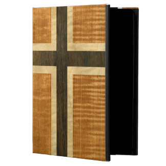 Norwegian Flag Wood Norsk Flagg - kongeriket Norge Cover For iPad Air