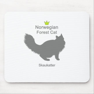 Norwegian Forest Cat g5 Mouse Pad