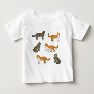 Norwegian forest cat selection baby T-Shirt