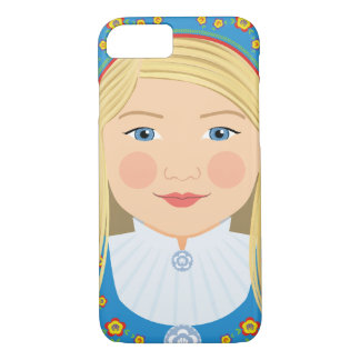 Norwegian Girl Matryoshka Case