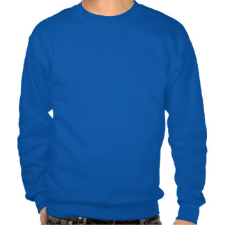 Norwegian Girl Silhouette Flag Pullover Sweatshirts