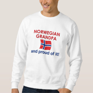 Norwegian Grandpa-Proud of it Sweatshirt