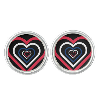 Norwegian Heart Norway-inspired Cufflinks