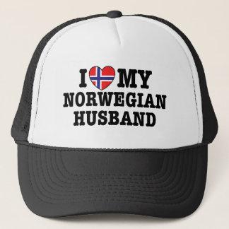 Norwegian Husband Trucker Hat