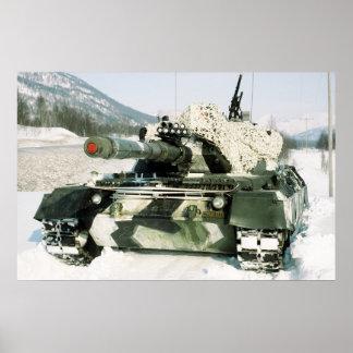 Norwegian Leopard 1 Poster