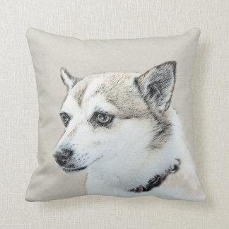 Norwegian Lundehund Cushion
