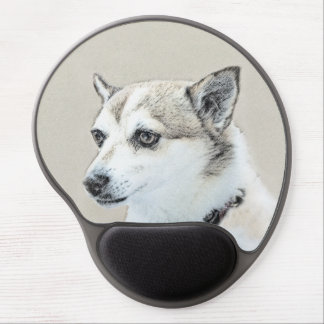 Norwegian Lundehund Gel Mouse Pad