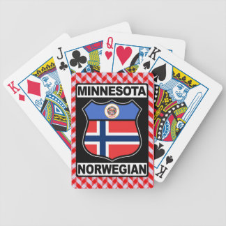 Norwegian Minnesotan American Card Deck Poker Deck