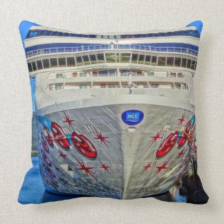 Norwegian Pearl pillow