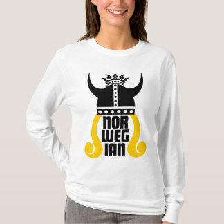 Norwegian Princess Funny Ladies Long Sleeve T T-Shirt