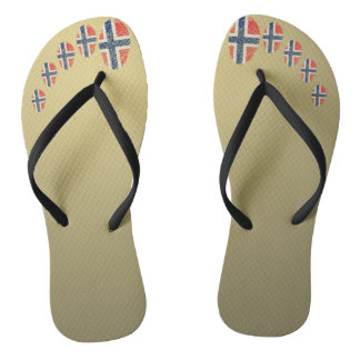 Norwegian touch fingerprint pattern thongs