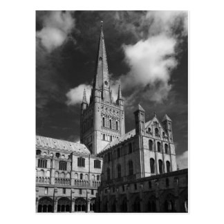 Norwich Cathedral, Norfolk, England Postcard