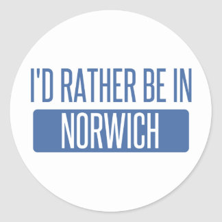 Norwich Classic Round Sticker