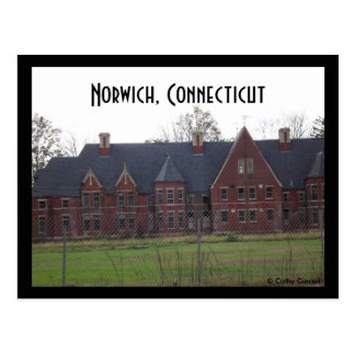 Norwich, Ct. Postcard