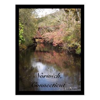 Norwich, Ct. Postcard