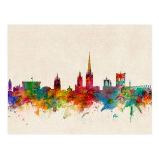 Norwich England Skyline Postcard