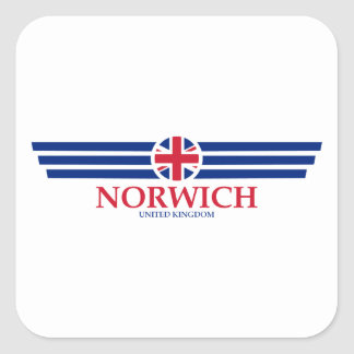 Norwich Square Sticker
