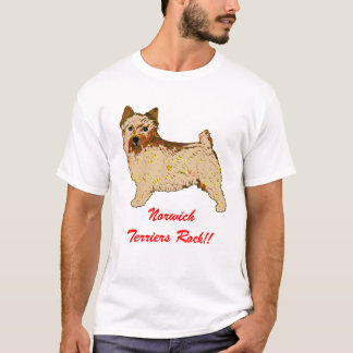 Norwich Terrier - Body left T-Shirt