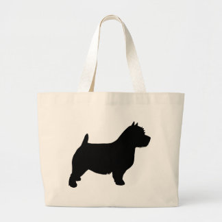 Norwich Terrier Gear Large Tote Bag