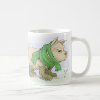 Norwich terrier in March Coffee Mug