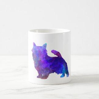 Norwich Terrier in watercolor Coffee Mug