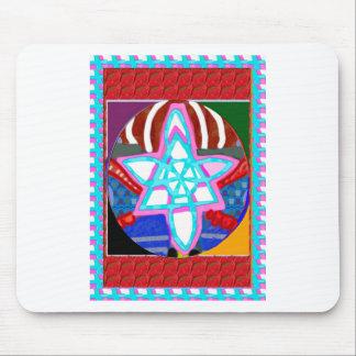NOSA Karuna Reiki Graphic Healing Symbol Mouse Pad