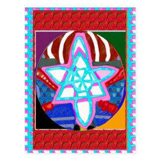 NOSA Karuna Reiki Graphic Healing Symbol Postcard